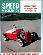 Speed Mechanics Magazine Feb/Mar 1955 Olds Dual Pipes EX No ML 052117nonjhe