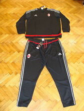 AC Milan Soccer Tracksuit Adidas Climacool Top Pants Football Training Suit BNWT
