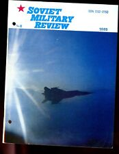 SOVIET MILITARY REVIEW -  AUGUST 1985 ( full English text) well illustrated.