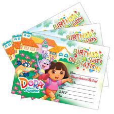 Buy dora the explorer birthday cards for children ebay dora the explorer invitations birthday party invites cards kids children girls filmwisefo