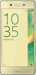 Sony Xperia X Performance Lime Gold - Neuwertiger Zustand ohne Vertrag (F8131)