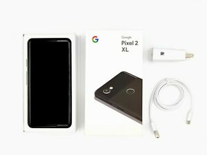 Google Pixel 2XL 64GB Factory Unlocked T-Mobile AT&T Verizon Cricket with OG BOX