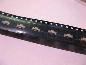 Qty 25 PCB Right Angle Pushbutton SPST-NO 1A 50V C&K KT11B1SAM - NOS