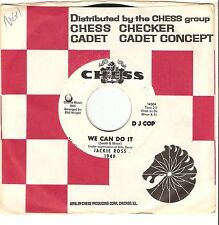JACKIE ROSS We Can Do It soul DJ 45 on CHESS RECORDS~one-sided promo~Billy Davis
