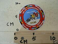 STICKER,DECAL ASSEN,EINDHOVEN,ALKMAAR IJSSPEEDWAY  WK 1983