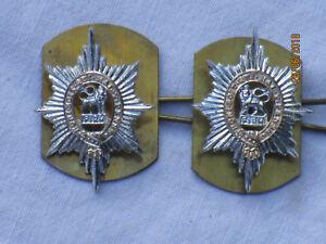 Worcestershire Regiment,Collar Badges,Anodised Aluminium Staybright