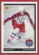1992-93 Upper Deck McDonald's NHL All-Stars - #19 - Kevin Hatcher - Capitals