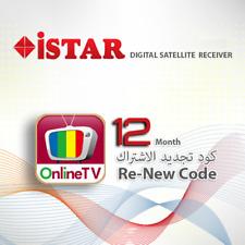 iSTAR Korea 12 Months Online TV Code