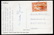 1552 ETHIOPIA TO GERMANY CARD 1958 GONDAR - HANNOVER