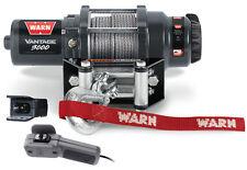 Warn UTV Vantage 3000 Winch w/Mount Yamaha Rhino 700 4x4 08-13