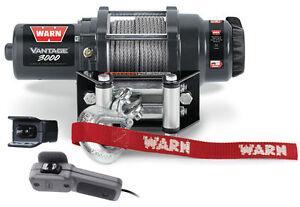 Warn UTV Vantage 3000 Winch w/Mount John Deere Gator XUV 825i S4 13-16