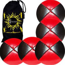Jeux et activités de plein air jonglages rouges à balles