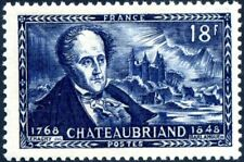 FRANCE Stamp n° 816 Chateaubriand NEUF** 1948 MNH