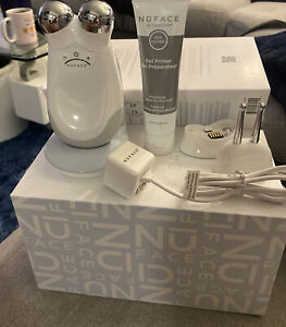 NEW IN THE BOX NuFACE Trinity Facial Toning Kit +ELE Attachment+ Free Gel Gold24