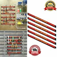 "Tool Holder Magnetic Rack Storage Organizer Rack 18"" Screw Drivers Wrenches NEW"