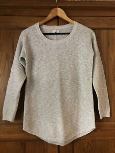 Fat Face light Grey Knit Jumper Size 6, Excellent Condition