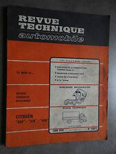 REVUE TECHNIQUE AUTOMOBILE RTA VEHICULE UTILITAIRE 1968 CITROEN 350 370 450