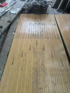 Reclaimed Bowling Alley 3m Long