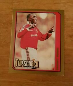 Merlin Premier League 2000 Sticker #285 Dwight Yorke Manchester Utd Top Scorer