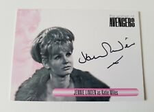 Unstoppable Cards The Women of the Avengers Jennie Linden Autograph Card