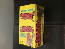 Wacky Packages 1986 Full Box of Unopened Sticker Packs