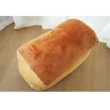 Lovely Breakfast Bread Plush Toy Soft Stuffed Emulated Cuddly Bread Pillow Doll