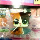 Hasbro Littlest Pet Shop FELINA MEOW green eyes LPS Figure Doll Special Edition