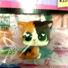 Hasbro Littlest Pet Shop FELINA MEOW green eyes LPS Figure - Special Edition Toy