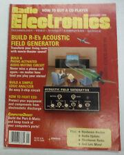 Radio Electronics Magazine Acoustic Field Generator January 1990 FAL 062315R