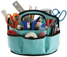 Sewing Organize Bag Tote Caddy Storage Hold Tool Stationary Craft Makeup Canvas