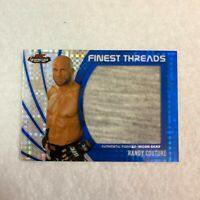 2012 Finest UFC Finest Threads Jumbo Fighter Relics #RC Randy Couture /188