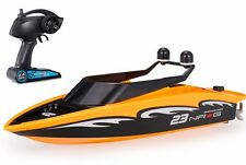 Radio Control RC RACE BOAT Dual Prop RC  BOAT -Ready To Run - YELLOW