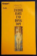 Spielnagel, Zauberflöte und Honigtopf, erotische Märchen, TB, 238 Seiten
