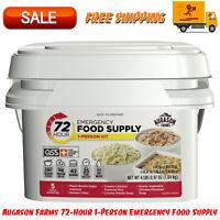 Augason Farms 72-Hour 1-Person Emergency Food Supply Kit 4 lbs 1 oz Food Storage