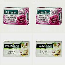 Soap Palmolive Lot 4pieces Х 90g Naturals 2moisturizing milk + 2Rose petals