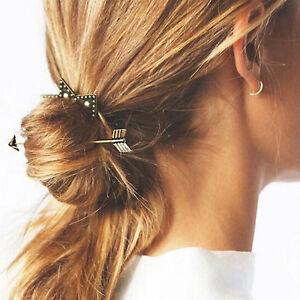 Boho Hair Pin Style Fashion Bohemian Grip Arrow Circle Ring Cute Clip Stick Pins