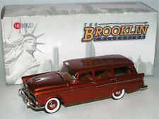 Brooklin BRK 143, 1955 Plymouth Belvedere Suburban Station Wagon, brown, 1/43