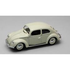 VW 1200 DE LUXE 1953 AVORIO 1:43 Rio Auto Stradali Die Cast Modellino