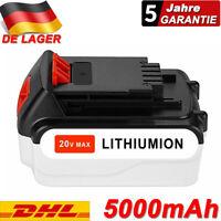 LBXR20 20V 5.0AH MAX Li-Ion Akku für Black & Decker LBX4020 BL1518 BL2018 BL4018
