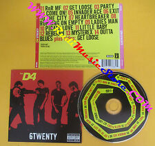 CD THE D4 6Twenty 2003 Us HOLLYWOOD RECORDS 2061623882 no lp mc dvd (CS9)