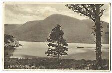 """Torc Mountain, Killarney PPC, 1937 """" Buy Irish Goods"""" Slogan Postmark"""