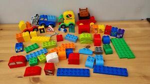 HUGE Lego Duplo Brick Bundle 73 Pcs Pickup Truck Pieces VGC