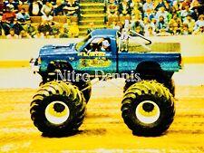 BEARFOOT 4x4 Chevy S-10 Photo 8x10 Original MONSTER Truck CRUSHER NHRA from 1985