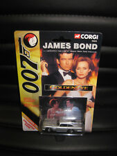 1/64 CORGI JAMES BOND 007 ASTON MARTIN D.B.5 SILVER GOLDENEYE + COLLECTORS CARD