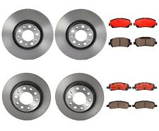 Front Rear Full Brembo Brake Kit Disc Rotors Ceramic Pads For Dodge Dart '13-'16