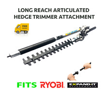 Hedge Trimmer Attachment Articulated Fits Ryobi Expand-It Power Head RLT RBC RPH