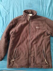 Men's Regatta Black Fleece Jacket Size XXL