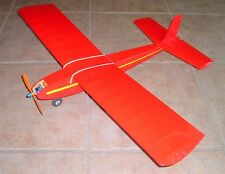 JR. FALCON PLAN WITH PATTERNS for EARLY-DAYS-OF-RC Goldberg 1/2A Model Airplane
