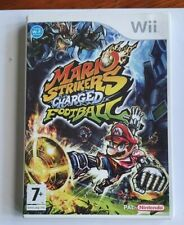 Mario Strikers Charged Football    Nintendo Wii Game With Case &Manual- PAL  VGC
