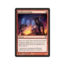 Magic the Gathering MTG 4x Faithless Looting x 4 LP/LP+ Playset Dark Ascension